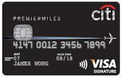 CitiPremierMilesVisaCard